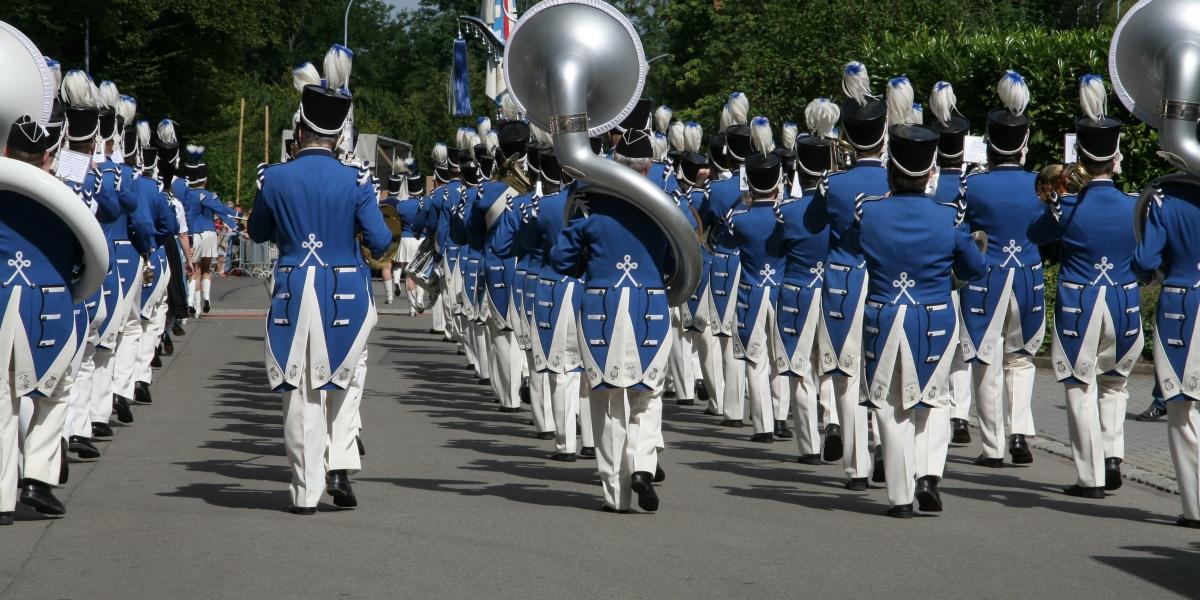 Marsch/Parademusik in Männedorf